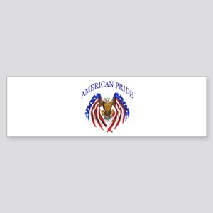 American Pride Eagle Sticker (Bumper)